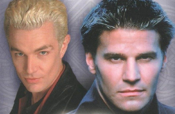 BUFFY The Vampire Slayer MEN of SUNNYDALE Complete Trading Card Set