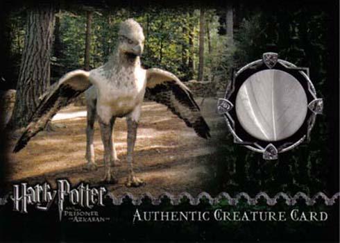 Harry Potter and the Prisoner of Azkaban Prop Cards - Buckbeak's Feather