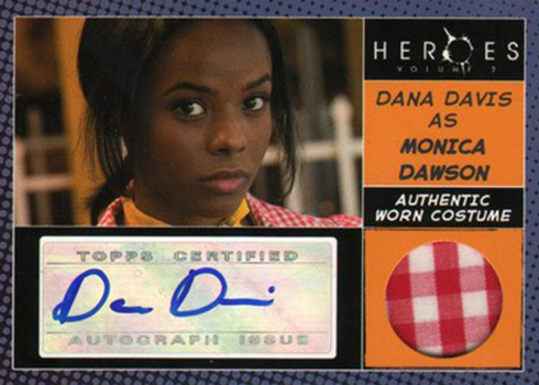 2008 Topps Heroes Volume 2 Autographs Costume