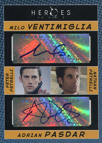 2008 Topps Heroes Volume 2 Autographs Dual