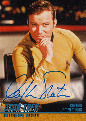Star Trek TOS Season 2 Autographs William Shatner