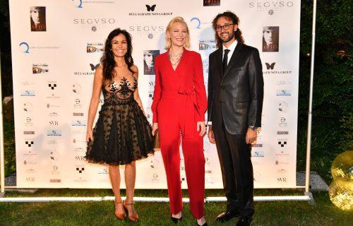 F3d Cate Blanchett con Quinn e de Bourbon