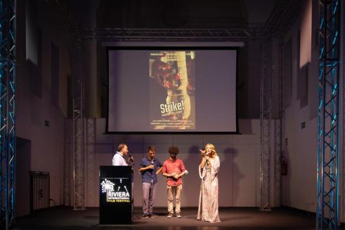 F4 Claudia Gerini al RIFF con i filmmaker