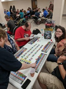 pop up night tabletop board game