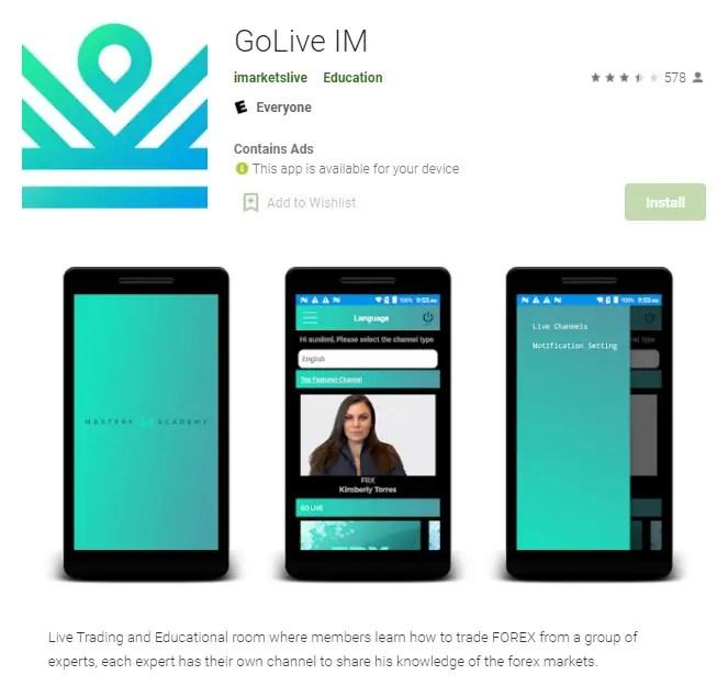 IML GoLive App