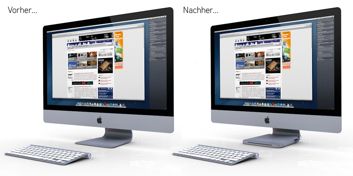 iMac Studie für Apfeltalk LIVE!