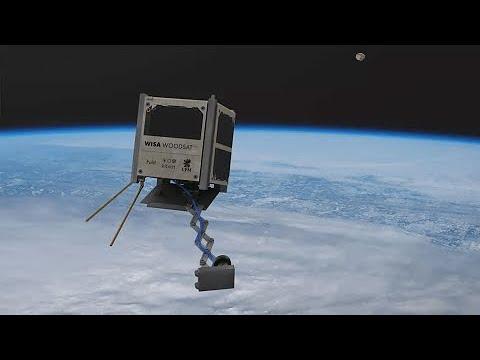 Primeiro satélite feito de madeira será lançado ao espaço este ano