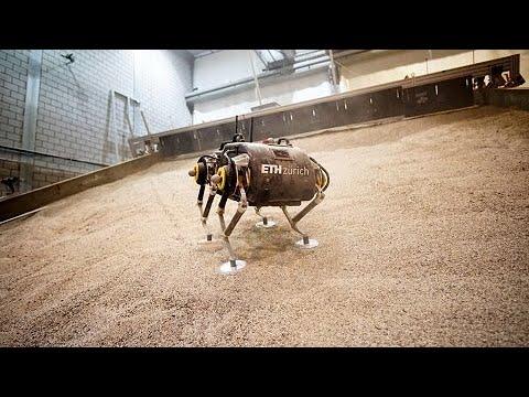 """Robô de """"quatro pernas"""" é preparado para caminhar em Marte"""
