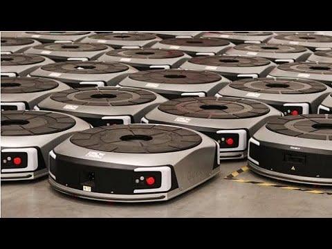 Robôs chineses se tornam melhores à medida em que trabalham