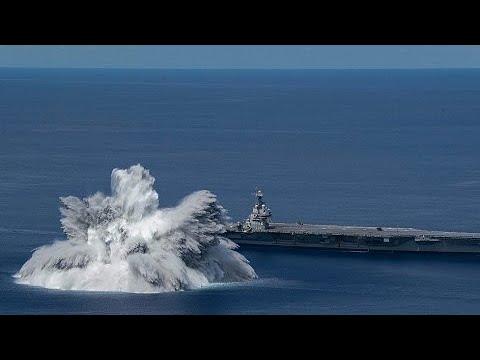 Terremoto de magnitude 3,9 é provocado pela Marinha dos EUA