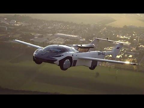 AirCar: carro voador viaja por 35 minutos no céu na Eslováquia