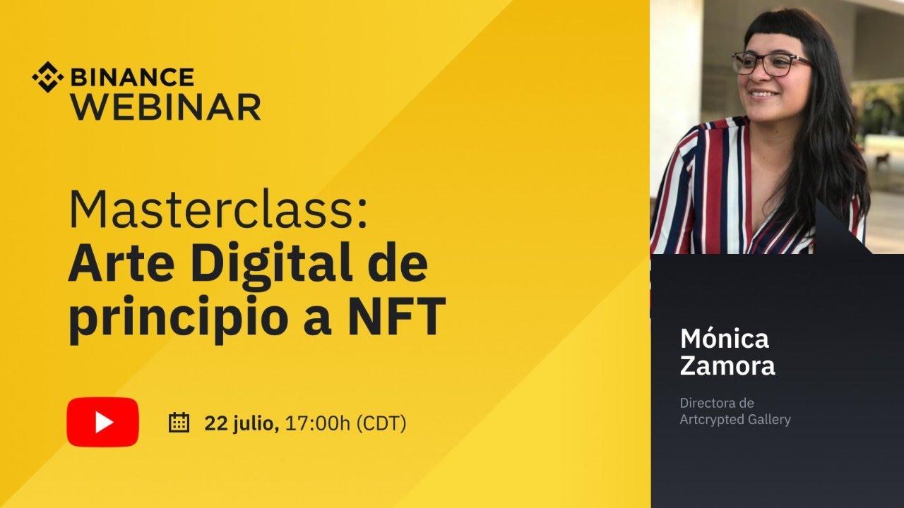 Masterclass: Arte Digital de principio a NFT