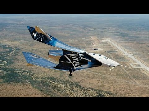 Virgin Galactic lança sorteio para viagem ao espaço