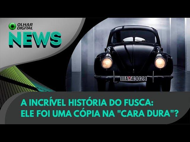 """Ao Vivo   A incrível história do Fusca: ele foi uma cópia na """"cara dura""""?   23/08/2021"""