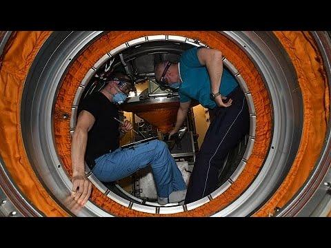 Nauka: faça um tour pelo módulo russo com os cosmonautas da ISS