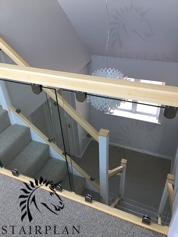Glass Balustrade Panels Design Order Online Toughened Glass | Glass For Stairs Price | Glass Handrail | Solid Oak | Outdoor | Metal | Glass Panel