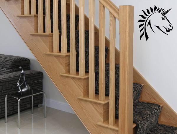 Oak Handrail Offers White Oak Select Range Stair Rails | White Oak Stair Railing