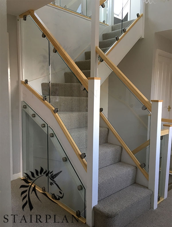 Glass Balustrade Panels Design Order Online Toughened Glass | Cost Of Glass Balustrade Stairs | Wood | Side Clamp | Steel Bracket | Spiral Staircase | Stainless Steel