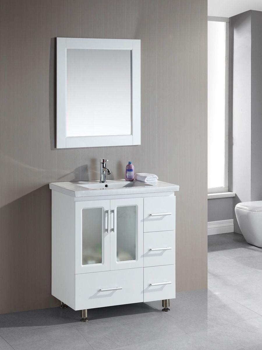 narrow bathroom vanities with 8 18