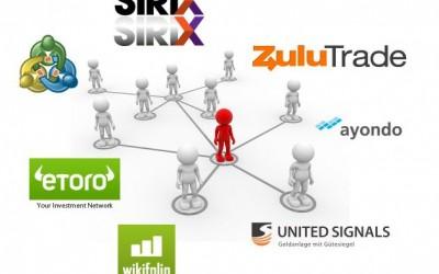 Social Trading Splitter im November