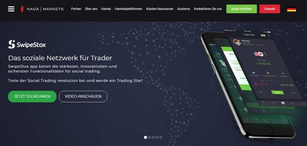Social Trading Splitter Dezember 2017
