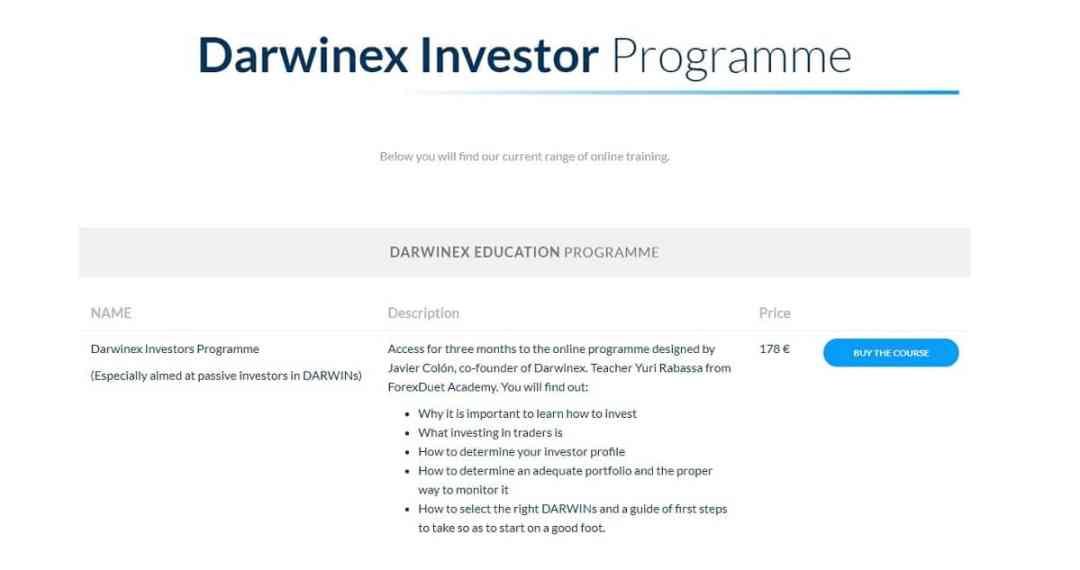 Darwinex Education Screenshot