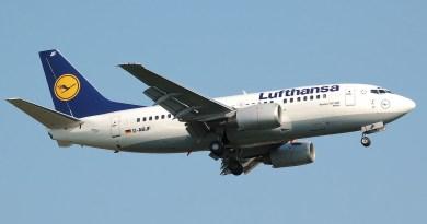 Überflieger Deutsche Lufthansa AG