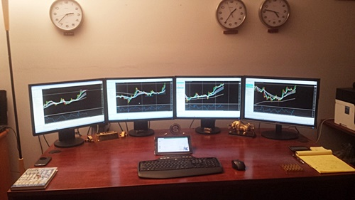 Home Trading Computers 27 Traders Workstation Photos OTA