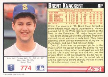Brent Knackert!
