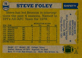 Image result for steve foley denver broncos