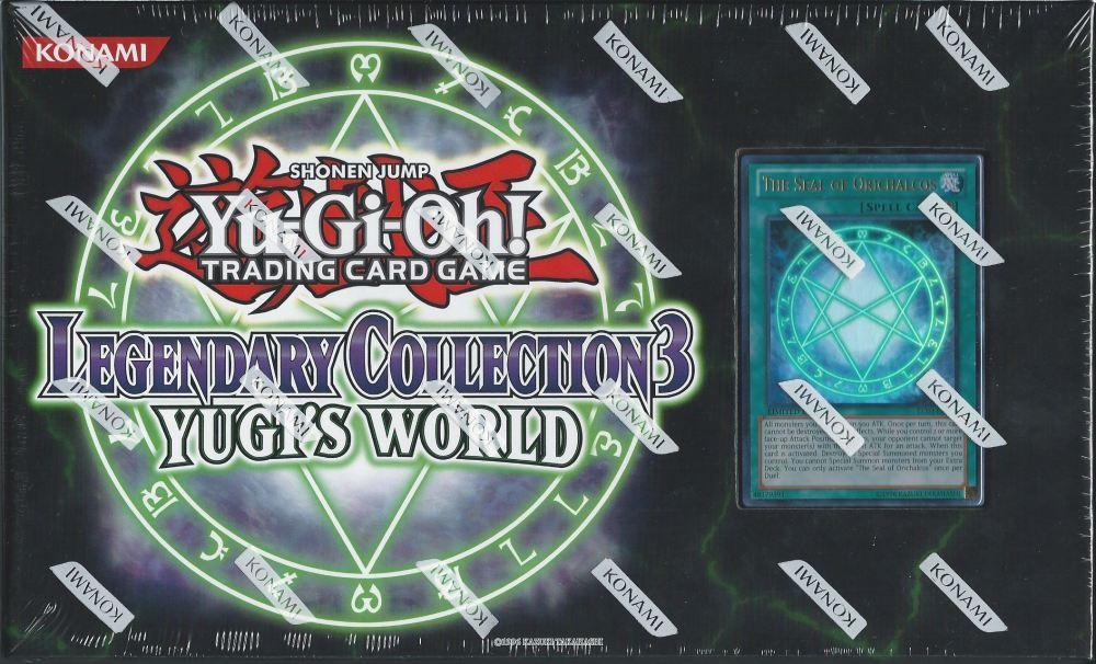 Legendary Collection 3 Yugi S World Mega Pack Trading