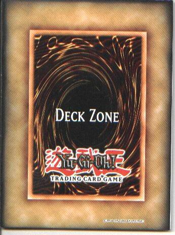Main deck zone tablero de juego