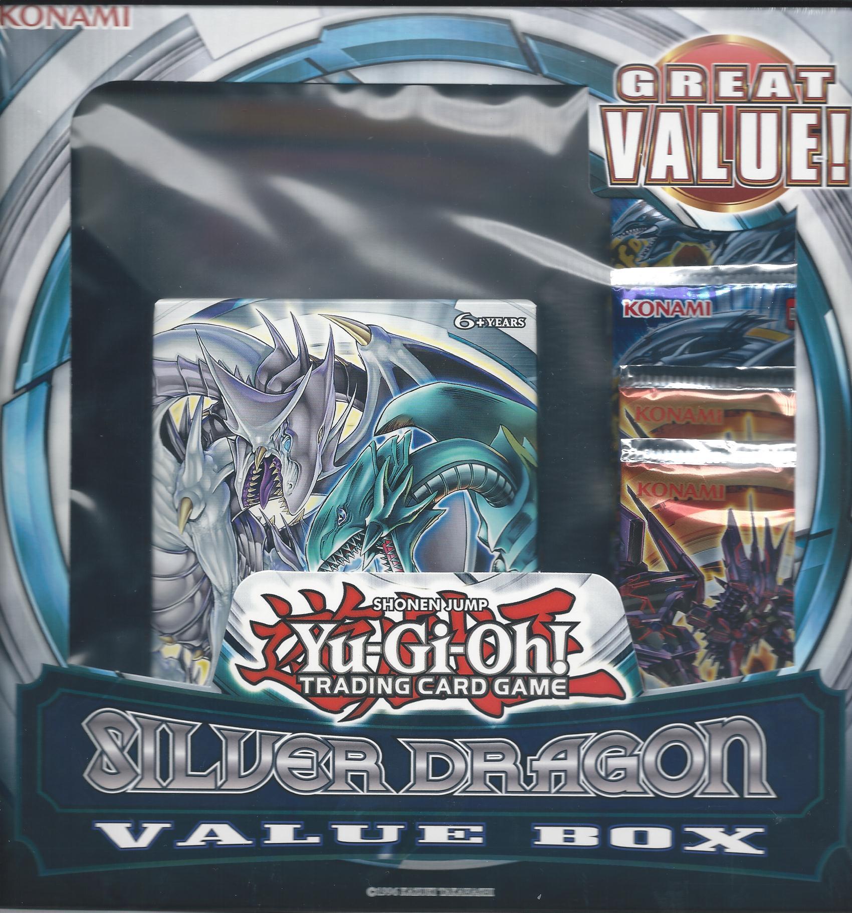 silver dragon value box includes saga of blue eyes white dragon