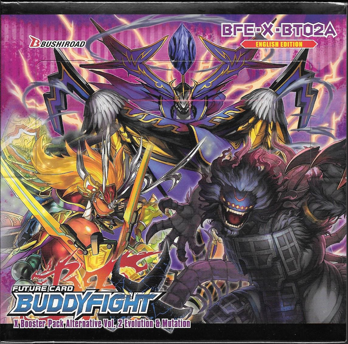 Future Card Buddyfight Evolution Amp Mutation 30 Pack
