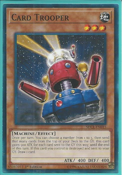 Sdcl En015 Card Trooper Common Structure Deck Cyberse