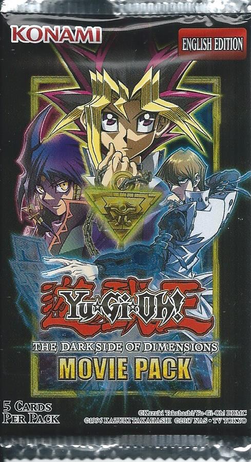 Yu Gi Oh The Dark Side Of Dimensions Movie Pack Trading Card Mint
