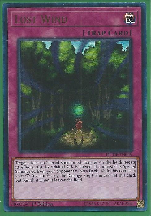 DUDE-EN042 Silent Graveyard Ultra Rare 1st Edition Mint YuGiOh Card