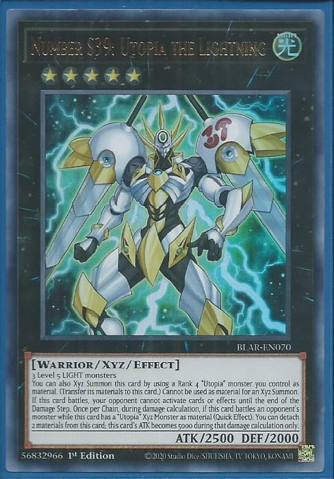 1st! Yugioh!! number c92: Heart-Earth caos Dragon blar-en069 nm Secret rare