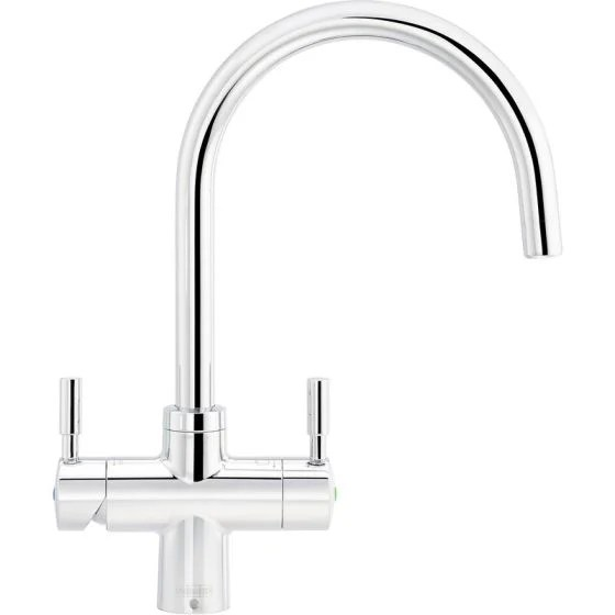 franke instante 4 in 1 boiling water kettle kitchen mixer tap chrome 119 0505 837