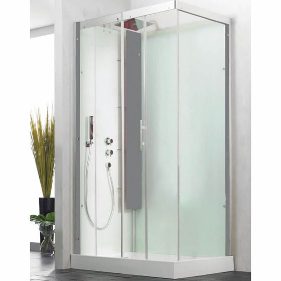 kinedo horizon shower cubicle 800mm x 800mm with sliding door ca116a12