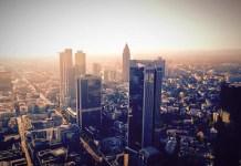 DAX Frankfurt Skyline