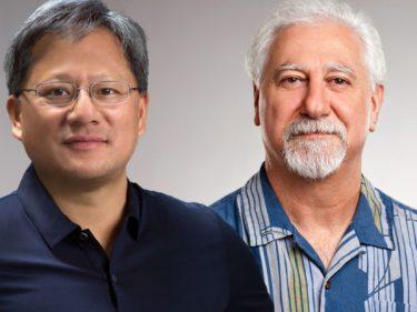 Nvidia Cofondatori Huang e Malachowsky