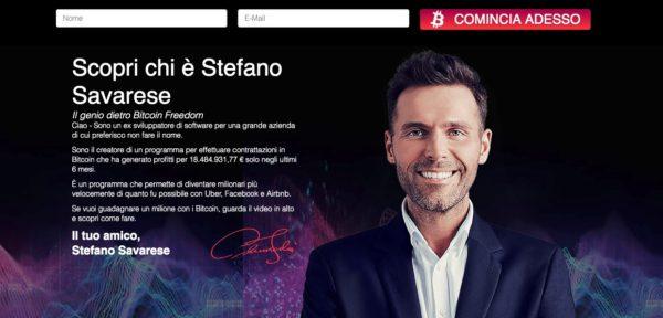 Bitcoin Freedom Stefano Savarese