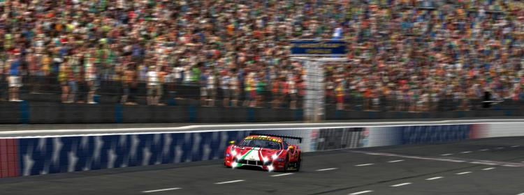 Preview of 2021 Le Mans AF Corse Ferrari 488 Real Red by Paul V.