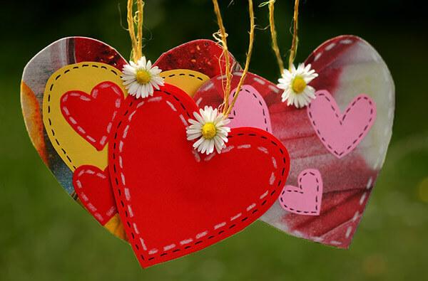 Luna februarie - o lună a iubirii