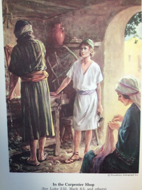 Picture from Bible Boys and Girls by Ethel Phillips