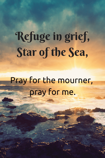 Refuge in grief, Pray