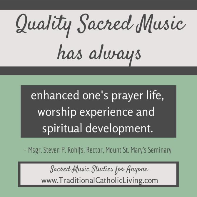 Quality Sacred Music