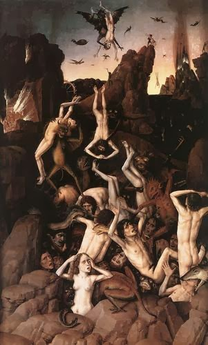 Flemish-Painter-Dieric-Bouts-the-Elder-Hell-Renaissance-Oil-Painting
