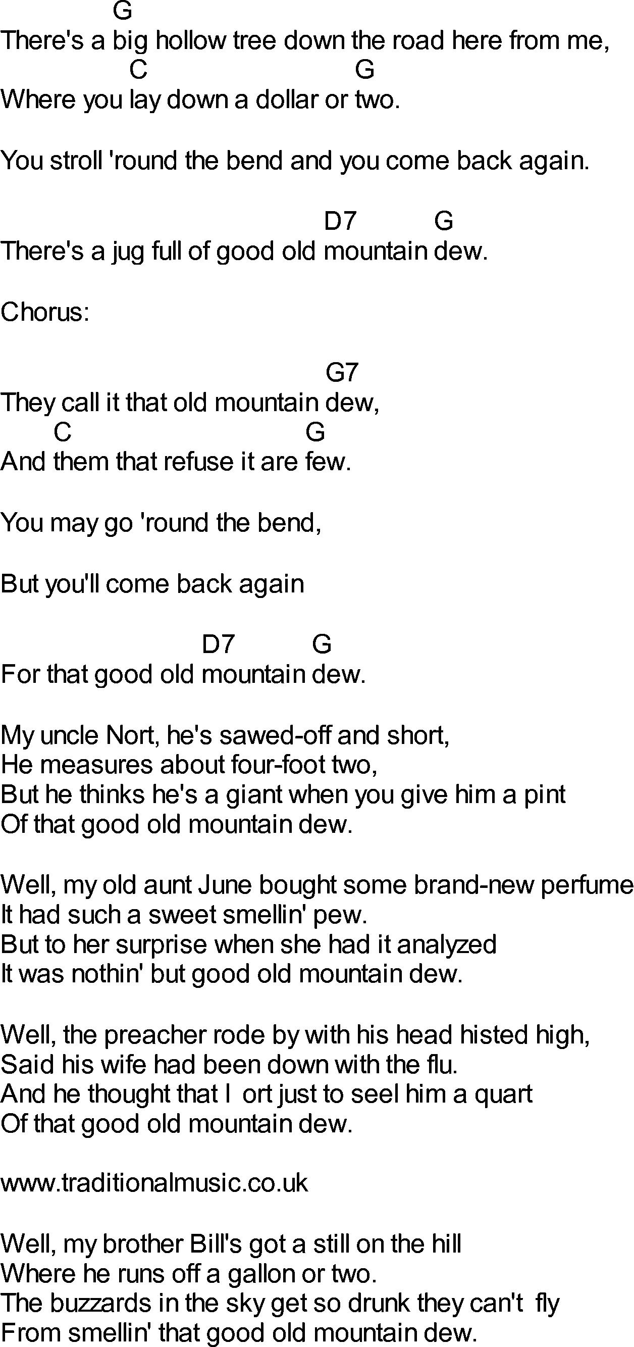 Dixie Chicks Landslide Chords